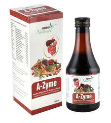 A-Zyme Herbal Digestive & Enzyme Tonic, Bottle, Packing Size: 200 Ml