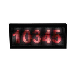 TECHON Outdoor LED Standalone Clock