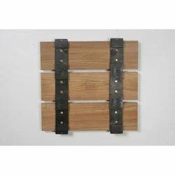 Rubber Back Side Wooden Decking