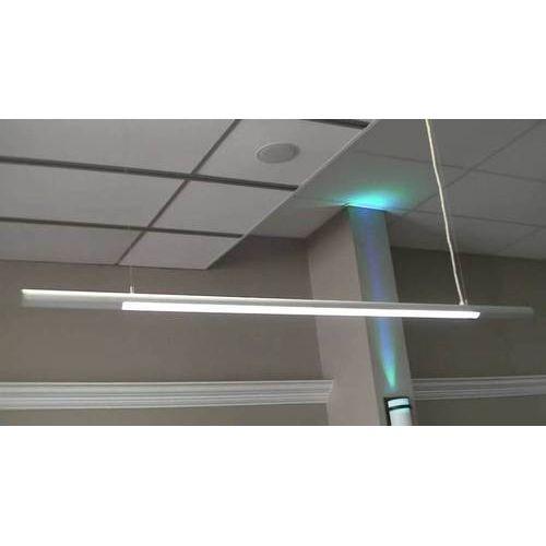 Hanging LED Tube Light, Light Emitting Diode Hanging Light - Argent ...