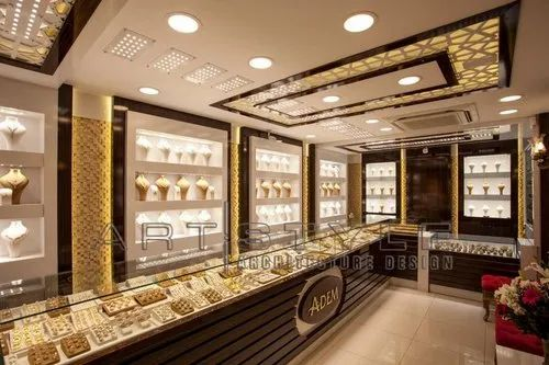 Jewellery Shops Interiors 3d Interior Design Available Yes Id 20832422112