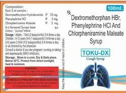 TOKU DX ( Dextromethorphan HBR, Phenylephrine HCl and CPM syp)