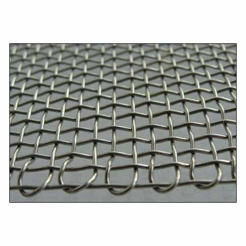Twill Powder Coated Plain Weave Wire Mesh, Material Grade: Ss 316, Thickness: 5-6 Mm
