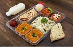 In Delhi Location 24*7 Deluxe Thali Home Food, Online