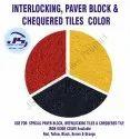 interlocking Tile Iron Oxide Pigment