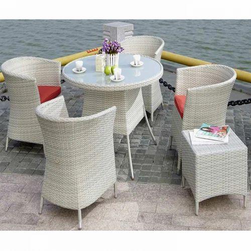Modern Outdoor Table Set