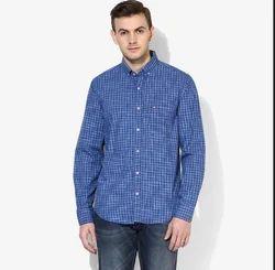 12f4f72785e Red Chief Blue Checks Regular Fit Casual Shirt For Mens