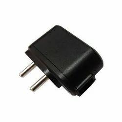 Black Single USB Mobile charger -5V DC,1Amp