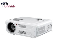 Punnkk P12 3500 Lumens LED Projector for Home Theatre, Education, Office Presentation, WXGA Resoluti