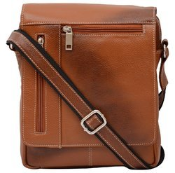 Brown Stan India Leather Sling Bag