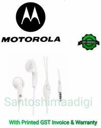 White In The Ear SJYN1181B Motorola Stereo Headset Earphone
