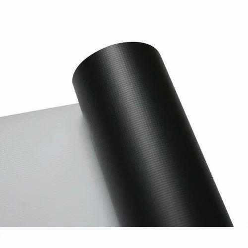 Black Back PVC Flex Banner Roll