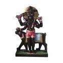 Black Marble Bhairav Statue