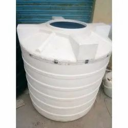 Round Double Layer PVC Water Storage Tank, Storage Capacity: 500-1000 L