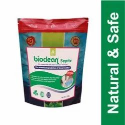 Bioclean Septic Sludge Degradation by Bacteria