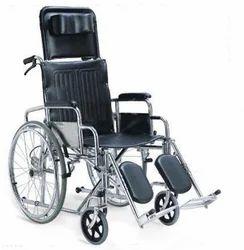 SALIUS Black Wheel Chair Stretcher, Size: 93 51 16 cm