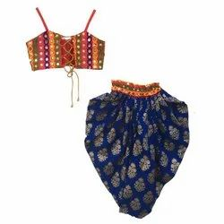 Dhoti With Multi Blouse, Indowestern