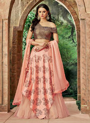 Indo Western Style Designer Lehenga Choli