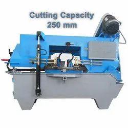 250 Mm Bandsaw Machine, For Metal Cutting