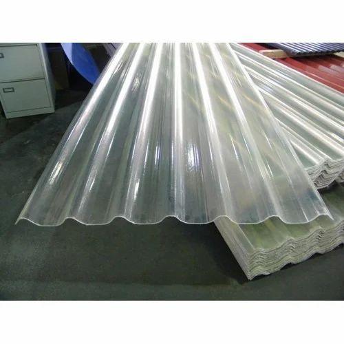 Transparent Waterproof Fiber Sheet Rs 28 Square Feet
