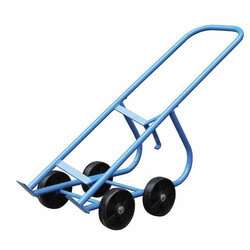 SS Drum Lifter Trolley