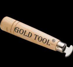Gold Tool Wooden Dapping Set 8 Pcs