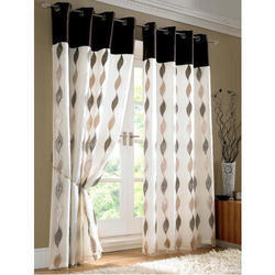 Cotton Printed Window Designer Curtain