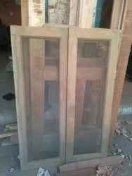 Double Wooden Window