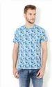 Van Heusen Blue T Shirt