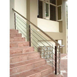 Stylish Stainless Steel Balcony Railing