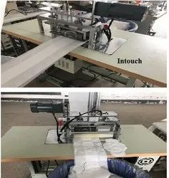 Manual Sanitary Pad Making Machine