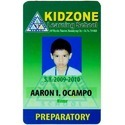 Plastic School ID Card