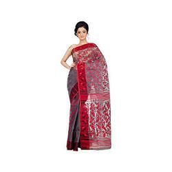Fancy Dhakai Jamdani Soft Saree