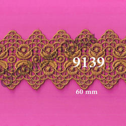 Zari Double Sided Fancy Style Lace, For Machine