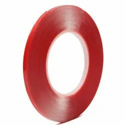 Red Polyester Double Sided Adhesive Tape