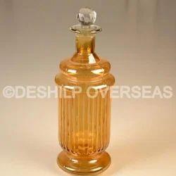 Glass Amber Perfume Bottle