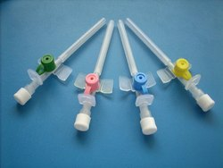 Intravenous Cannula With Injection Valve