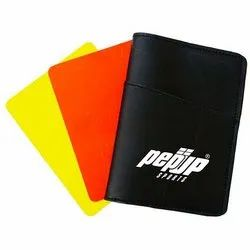 Pepup PVC Soccer Referee Warning Card Set, For Sports