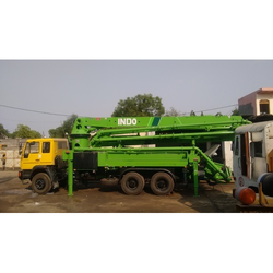 43 mtrs, 36 mtrs Boom Placer On Rent, Capacity: 43 Mtrs & 36 Mtrs