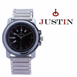 Silver Analog Formal Men Wrist Watch