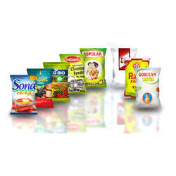 Multicolor Rotogravure Printed Plastic Food Packaging Pouches, Capacity: 50 Gm To 5 Kg