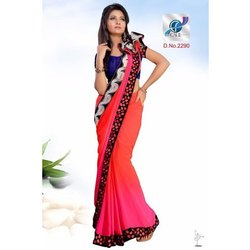 Fancy Heavy Border Silk Sarees