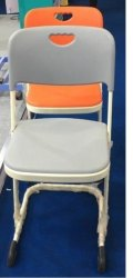 Stainless Steel Chair, Material Grade: Ss314