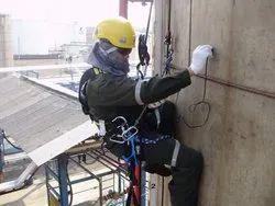 Non-Destructive Rope Access Ultrasonic Testing Service