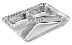 PARAMOUNT 3 COMPARTMENT FOIL CONTAINER