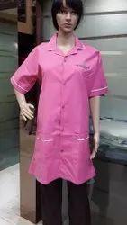 Female Housekeeping Long Coat Uniforms- Su-60