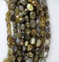 Natural Pigeon Agate Faceted Unshape Nugget Beads