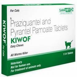 Kiwof(Praziquantel) Tabs for Cat