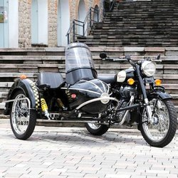 Cozy Kozi Rocket Sidecar Left & Right For Royal Enfield & Other Motorcycles