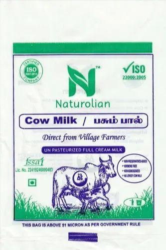 Milk Pouch Printing